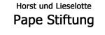 Horst und Lieselotte Pape-Stiftung