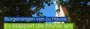 Bürgersingen - Liedtext für den 29. Juli
