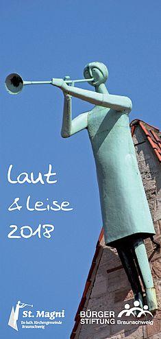 """Flyer """"Laut & leise"""""""